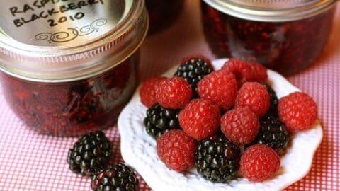 Raspberry Blackberry Freezer Jam A Farmgirl S Dabbles,Kitchen Small House Renovation Ideas