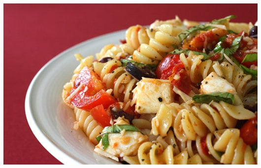 Pasta with Sun-Dried Tomatoes • a farmgirl's dabbles