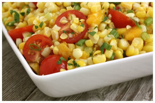 Sweet Corn Salad - Fresh from the Farmers' Market • a farmgirl's ...