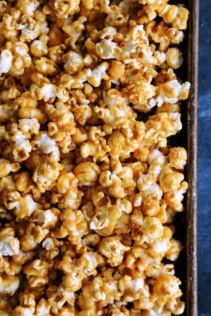 Oven-Baked Caramel Corn