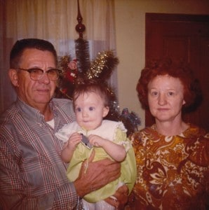 first christmas, 1971