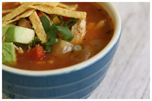 Meghan's Chicken Tortilla Soup