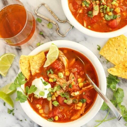 Meghan's Chicken Tortilla Soup