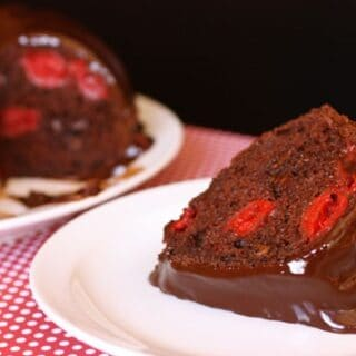 Chocolate Cherry Fudge Bundt