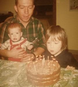 birthday celebration in 1975