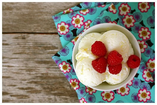 Lemon Buttermilk Sherbet {Whole Family Cookbook} • a farmgirl's ...