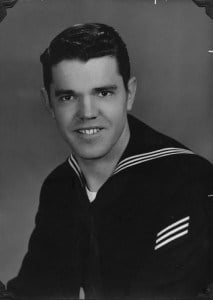 Archie in the Navy, early 1950s