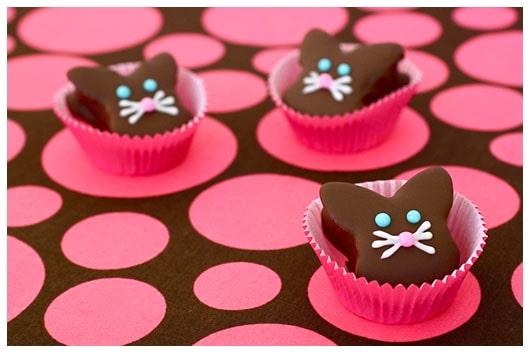 Homemade Chocolate Covered Marshmallow Bunnies
