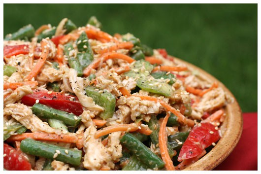 Ina Garten Chicken chinese chicken salad • a farmgirl's dabbles