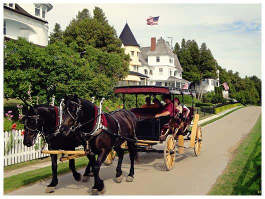 horse drawn carriage tour