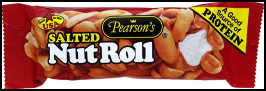 A Salted Nut Roll Candy Bar
