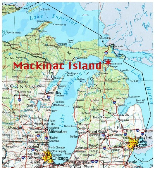Chicken Curry Salad Road Trip Mackinac Island  A