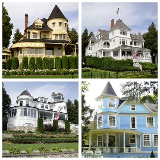 mansions on mackinac island