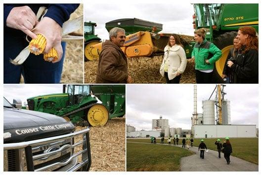 Cheesy Skillet Scalloped Corn Iowa Corn Tour A