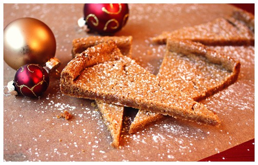 Rachel's Spicy Christmas Shortbread