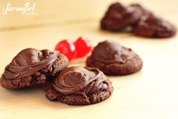 print chocolate covered cherry cookies yield 48 cookies ingredients 1 ...