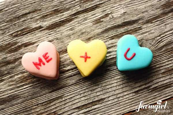 Marshmallow Conversation Hearts