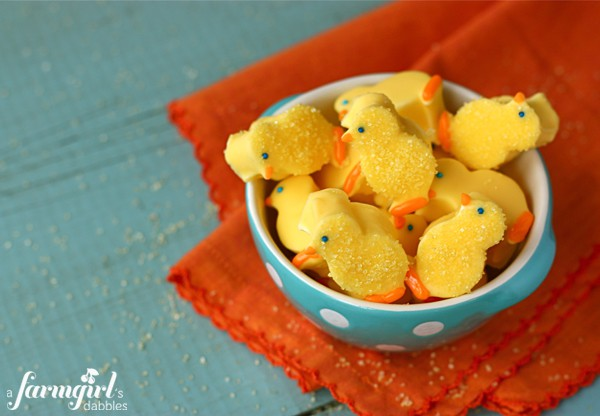 How to Make Marshmallow Chicks - Gather Your Ingredients