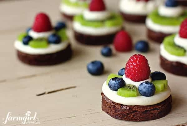 Brownie Sandwiches With Honey Cream Cheese Frosting Recipes ...