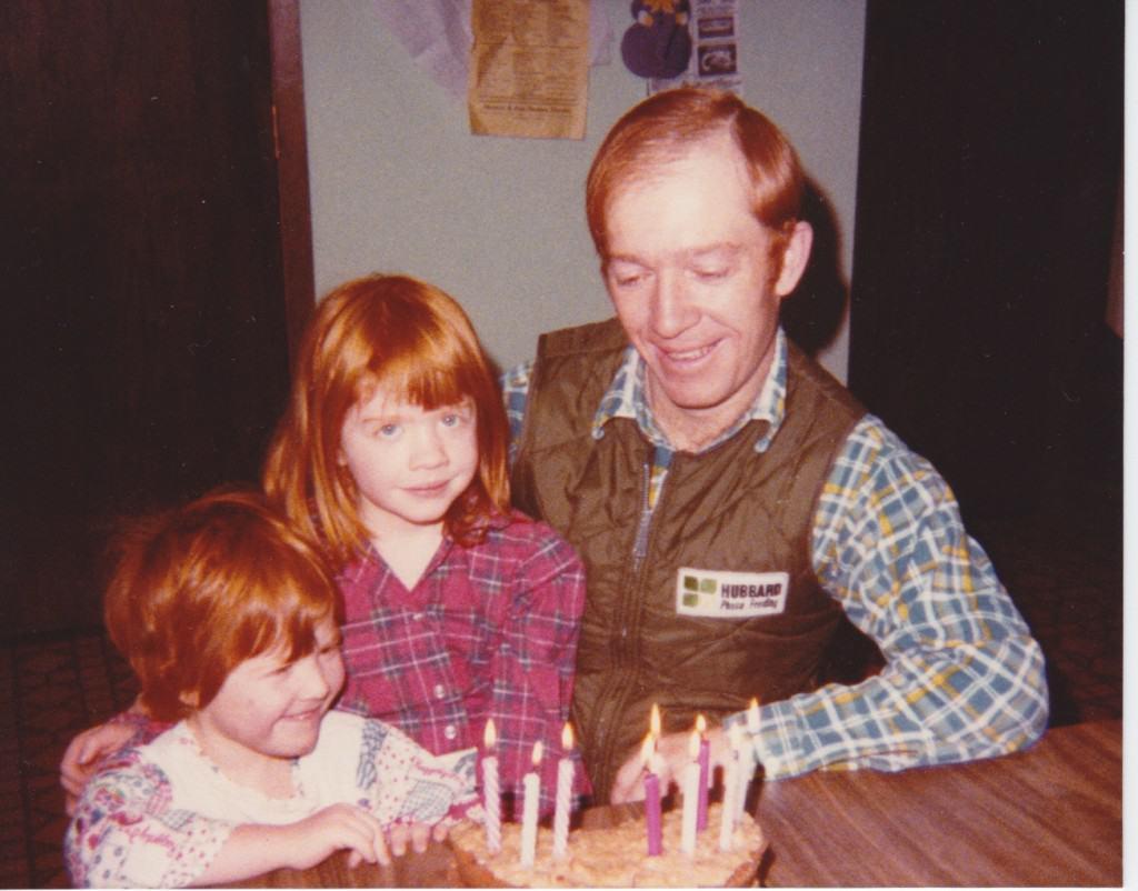 Dad's birthday 1980