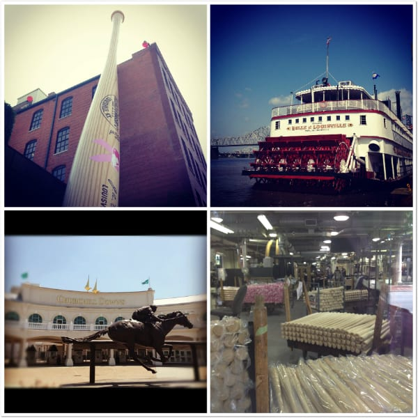 Louisville Slugger Museum and Churchill downs