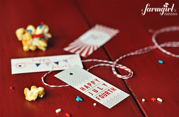 fourth of july gift tags