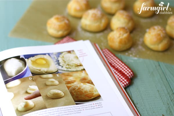 cream puff making guide