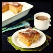peach cake - a farmgirl's dabbles