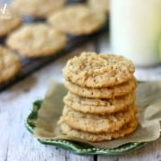 apple peanut butter cookies - from a farmgirl's dabbles