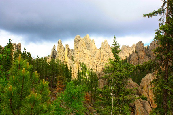 mountains in the Black Hills