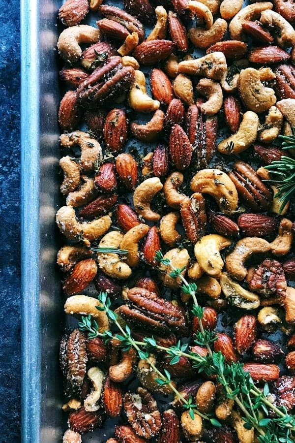 Rosemary Thyme Spiced Nuts