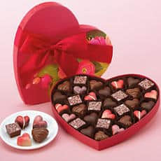 Harry and David Valentine's Day Chocolates Gift Box