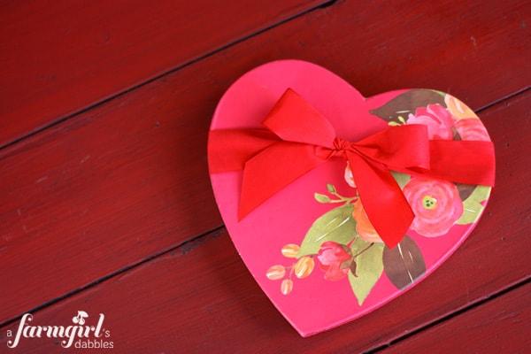 Harry and David valentine box