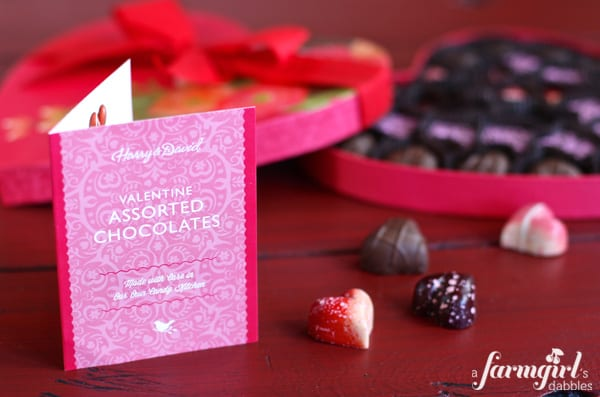 assorted valentines chocolates