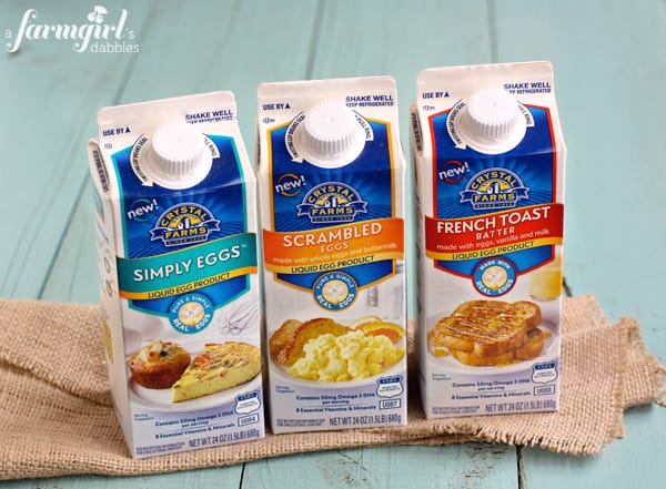 new Crystal Farms eggs products