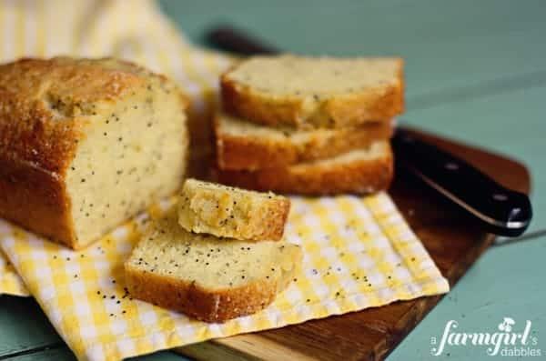 Almond Poppy Seed Bread with Lemon Glaze • a farmgirl's dabblesa ...