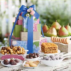 Harry and David Mothers Day Tower of Treats Gift Deluxe