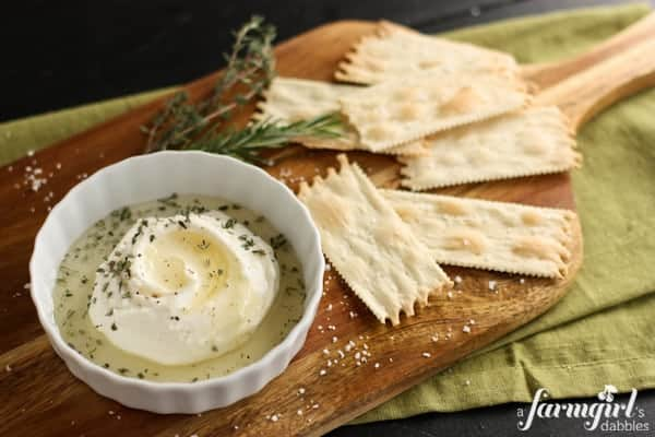 Creamy Homemade Ricotta with Honey and Herbs • a farmgirl's dabblesa ...