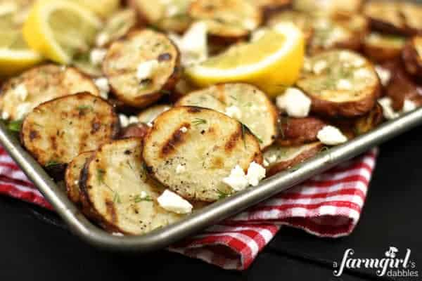 6 Awesome Recipes Using Red Potatoes - www.afarmgirlsdabbles.com #potatoes