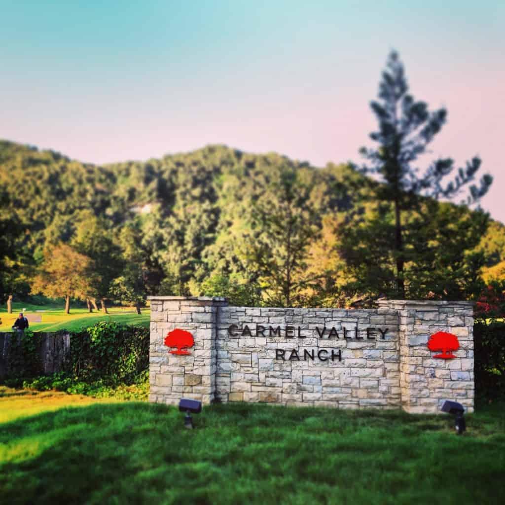 Carmel Valley Ranch in California