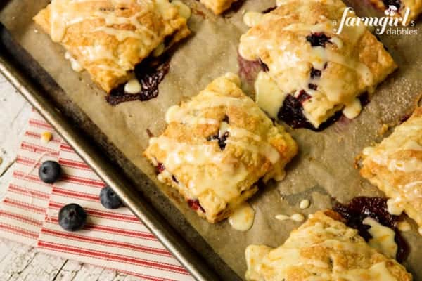 Blueberry Hand Pies with Orange Glaze • a farmgirl's dabblesa ...