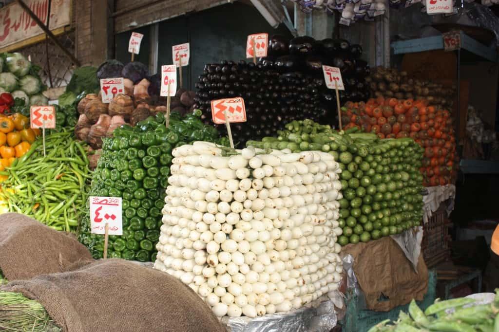 souk market in Egypt