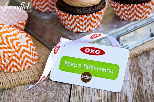 OXO bake a difference campaign image
