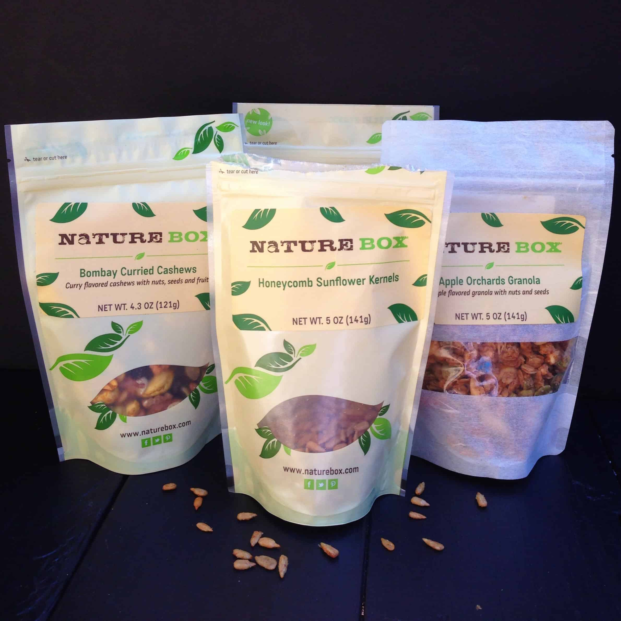 NatureBox snacks #giveaway! Win a 6-month subscription to Naturebox! at www.afarmgirlsdabbles.com