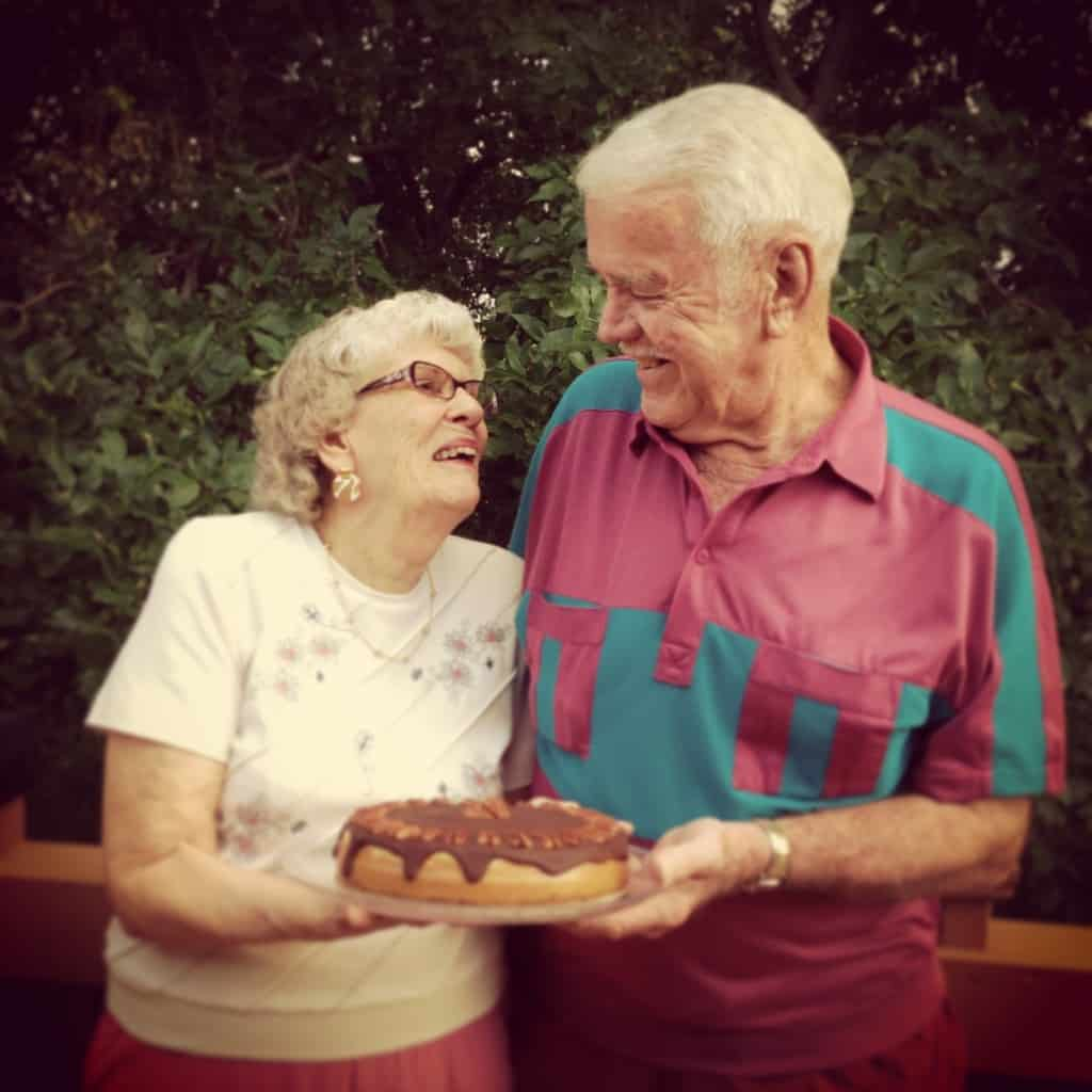 Archie and Loree 60 years