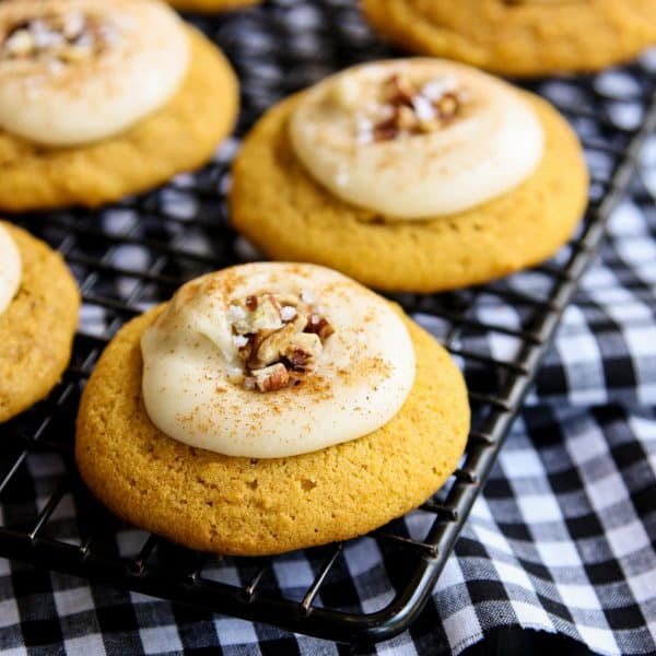 Melt-In-Your-Mouth Pumpkin Cookies