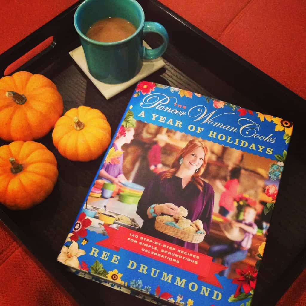 The Pioneer Woman Cooks - A Year of Holidays with a mug of coffee