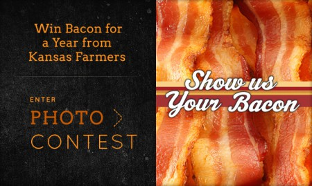 WIN Bacon for a Year from Kansas Farmers!