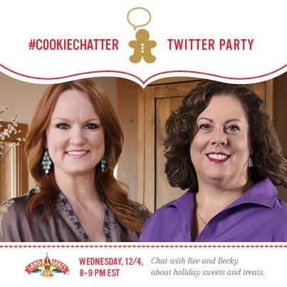 #CookieChatter twitter party