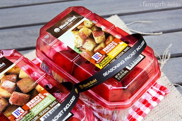 Black Gold roasted red potato packs
